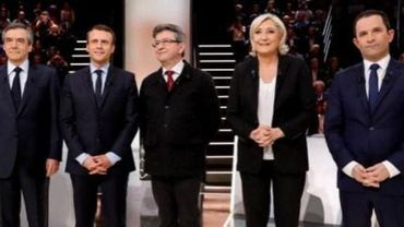 Présidentielle française - Le Pen, Macron, Fillon, Hamon et Mélenchon tentent de se donner une carrure présidentielle