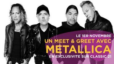 Un meet & greet avec Metallica