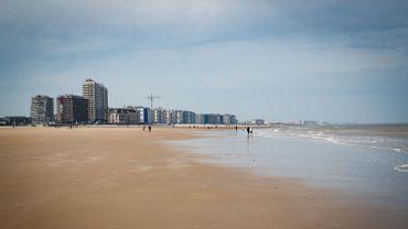 La superficie de la Belgique désormais un peu plus grande grâce à ses plages