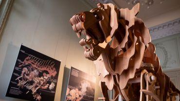 Le lion mécanique de Léonard de Vinci reconstitué