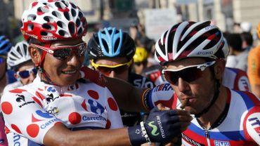 Nairo Quintana et Joaquim Rodriguez