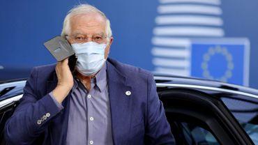"""Le chef de la diplomatie européenne, Josep Borrell, a appelé vendredi Moscou à s'abstenir d'intervenir au Bélarus et à """"respecter les choix démocratiques"""" du peuple bélarusse."""