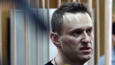 Alexeï  Navalny comparaissait ce lundi