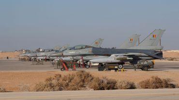 Des F-16 belges en Jordanie