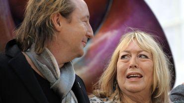 Cynthia avec Julian Lennon en 2010