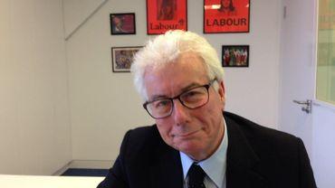 Ken Follett a reçu la presse pour la Foire du Livre de Bruxelles