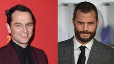 """Matthew Rhys (à gauche) et Jamie Dorman sont respectivement connus pour leur participation à """"The Americans"""" et """"Cinquante nuances de Grey"""""""