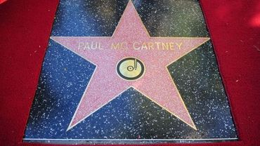 L'étoile de Paul Mc Cartney sur Hollywood boulevard