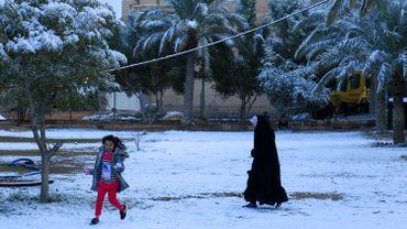Irak: il a neigé sur Bagdad, un phénomène rarissime