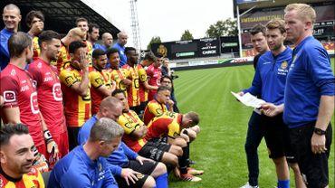 Les joueurs du FC Malines