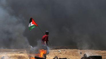 55 Palestiniens ont été tué, 2000 blessés.