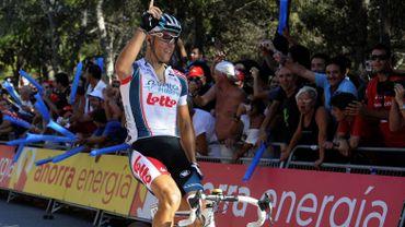 Philippe Gilbert passe la ligne en vainqueur