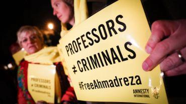 Des universités flamandes se mobilisent pour un professeur de la VUB condamné à la peine capitale en Iran
