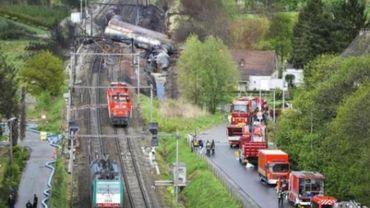 Accident de train à Schellebelle - tous les blessés ont quitté l'hôpital