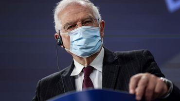 Le chef de la diplomatie européenne Josep Borell.