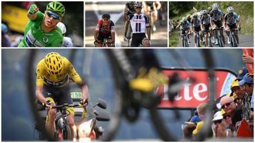 Froome, les leaders dans un mouchoir, Kittel, Rodez, et Ag2r, les temps forts de la 2e semaine du Tour