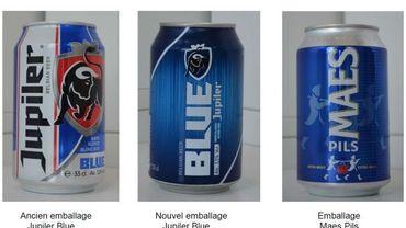 Une bière bleue? Comparez...