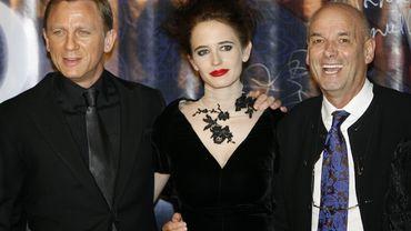 """Martin Campbell (à droite) est connu pour avoir tourné deux opus de James Bond, dont """"Casino Royale"""" avec Daniel Craig et Eva Green."""