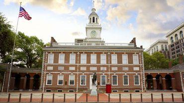 Le Hall de l'Indépendance de Philadelphie
