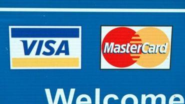 Logos de Visa et Mastercard