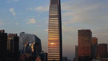 La China World Tower III, le bâtiment le plus haut de Pékin