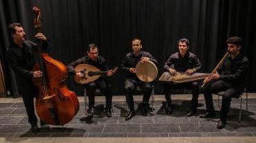 WAJD, l'un des groupes de musiciens réfugiés déjà soutenu par le projet