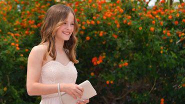 """Le Machin de la Crise d'Ado a été décerné à la jeune actrice belge Fantine Harduin (14 ans), pour le film """"Adoration""""."""