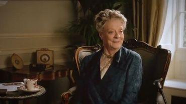 """Maggie Smith est l'une des actrices principales de """"Downton Abbey"""", dont la cinquième saison sera diffusée à partir du 21 septembre sur ITV."""