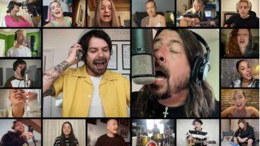 "Dave Grohl partage sa ""playlist confinement"""