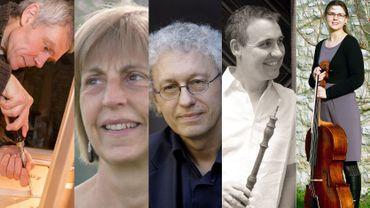 Jean-Luc Wolfs, Marie-Anne Dachy, Bernard Foccroulle, Benoit Laurent et Mathilde Wolfs