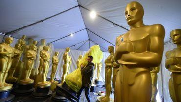 La préparation des Oscars 2017