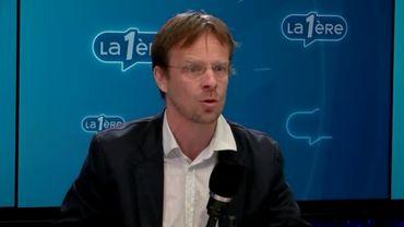 """Patrick Dupriez, co-président d'Ecolo: """"On ne travaillera plus avec Monsieur Moreau chez Nethys"""""""