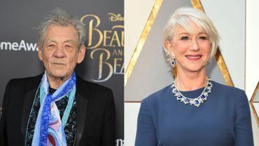 """Ian McKellen et Helen Mirren au casting de """"The Good Liar"""""""