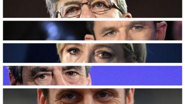 Le test se réalise sur cinq candidats