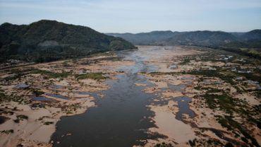 Le fleuve Mékong atteint à peine un mètre à certains endroits contre 6 mètres les années précédentes