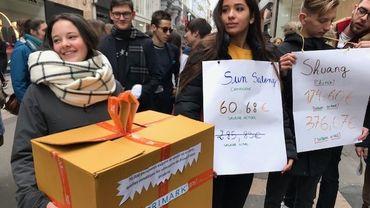 Action devant Primark pour plus de transparence dans l'industrie du vêtement.