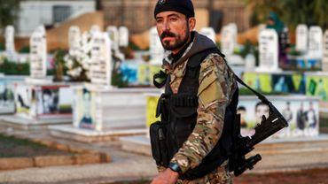 Un membre de la milice kurde des Unités de protection du peuple (YPG) dans le nord-est de la Syrie