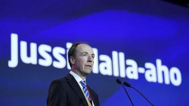 """Jussi Halla-aho, président du parti """"Vrais Finlandais"""""""