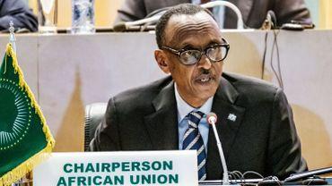 Paul Kagame, président de l'Union Africaine