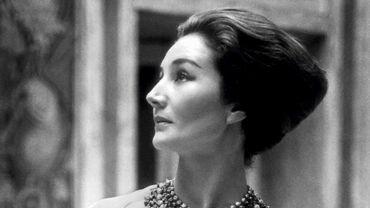 Jacqueline de Ribes en Christian Dior, 1959