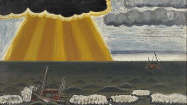Jean Brusselmans, La Tempête (The Storm), 1936, oil on canvas, 147 x 147 cm, private collection