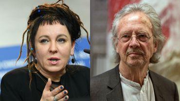 Les prix Nobel de littérature 2018 et 2019 ont été attribués à la Polonaise Olga Tokarczuk et à l'Autrichien Peter Handke