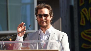 """Matthew McConaughey est actuellement à l'affiche d'""""Interstellar"""""""