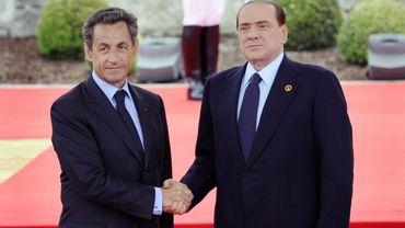 Silvio Berlusconi et Nicolas Sarkozy n'ont jamais entretenu des rapports amicaux