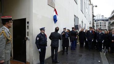 Charlie Hebdo : des plaques à la mémoire des victimes pour lancer les commémorations