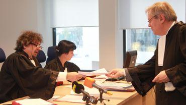 Le Président du tribunal de première instance de Bruxelles lors du procès opposant les enfants de Françoise Jonckheere à la SA Eternit.