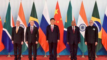 Le 9ème sommet des BRICS, qui s'est tenu en 2017 à Xiamen (sud-est de la Chine).