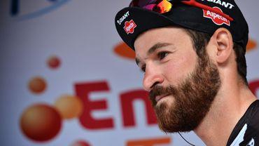 Le cycliste allemand Simon Geschke, l'un des barbus du peloton.