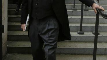 Le journaliste David Frost