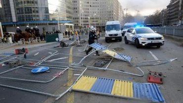 Plus de 55.000 euros de dégâts sur les routes bruxelloises le 30 novembre